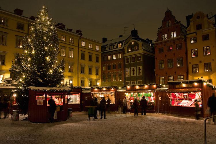 Stockholm kerstmarkt