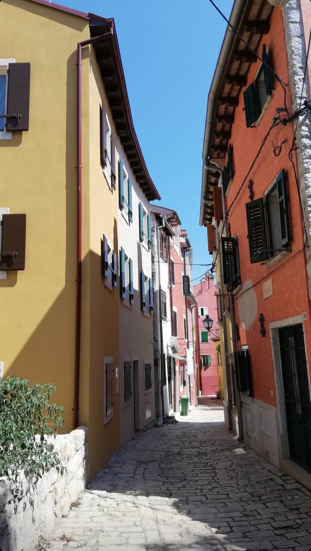 Straatjes van Rovinj, Istrië