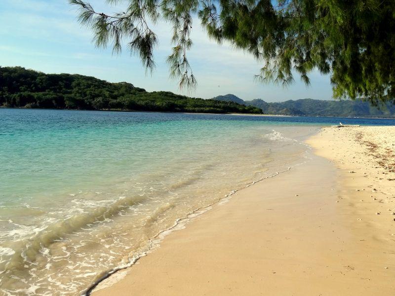 Gili eilanden Strand gili nanggu indonesie