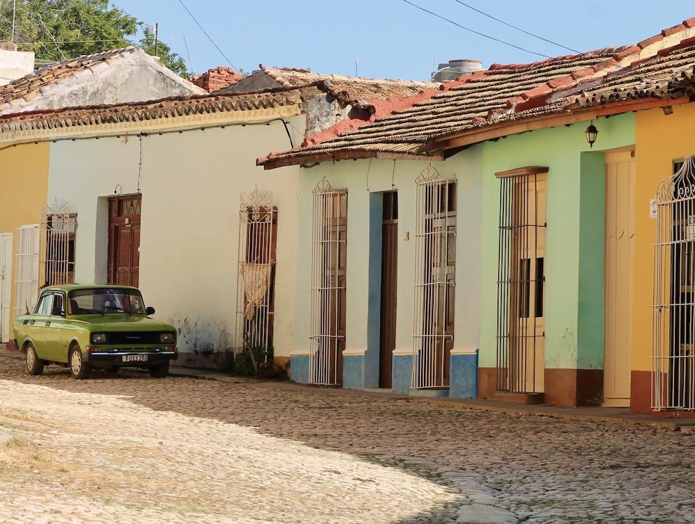 Straten van Trinidad, Cuba