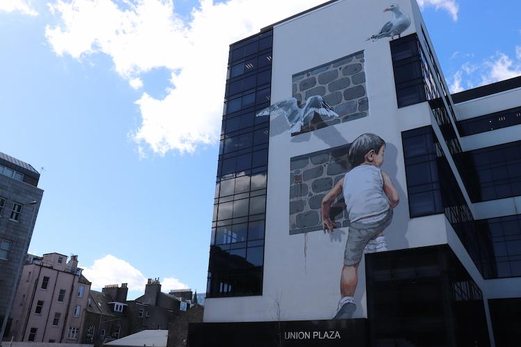 Streetart in Aberdeen
