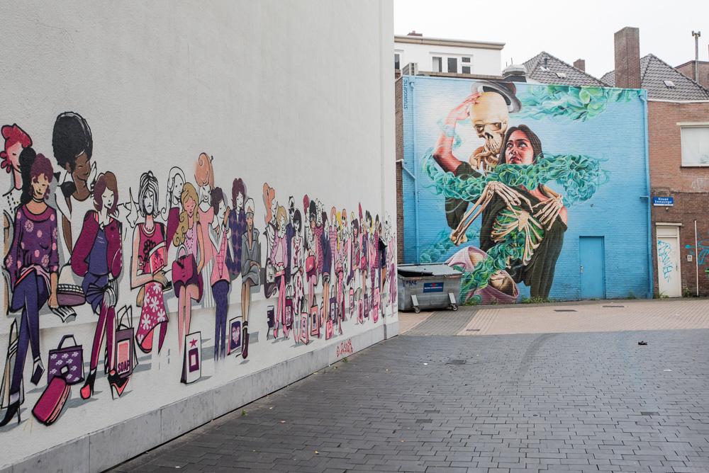 Streetart in Eindhoven centrum