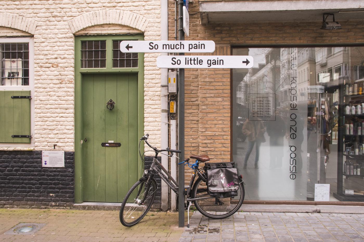 Streetart in Oostende weekend