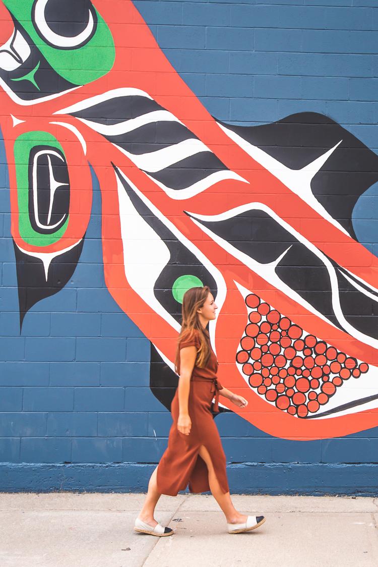 Streetart in Whitehorse Yukon Canada