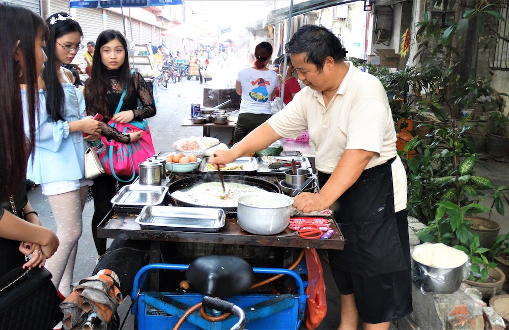 Streetfood guangzhou china