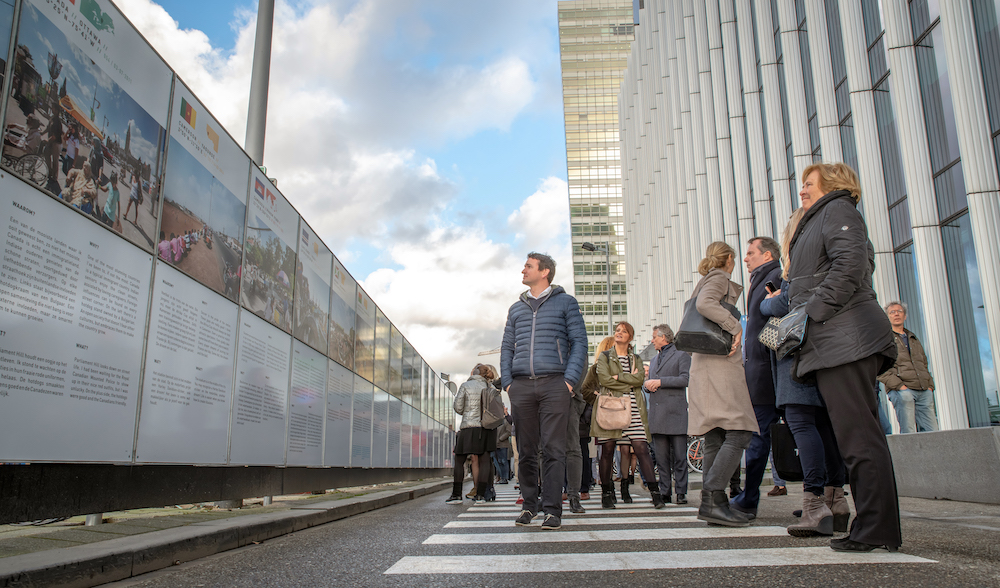 Streets of the World opening Zuidas amsterdam