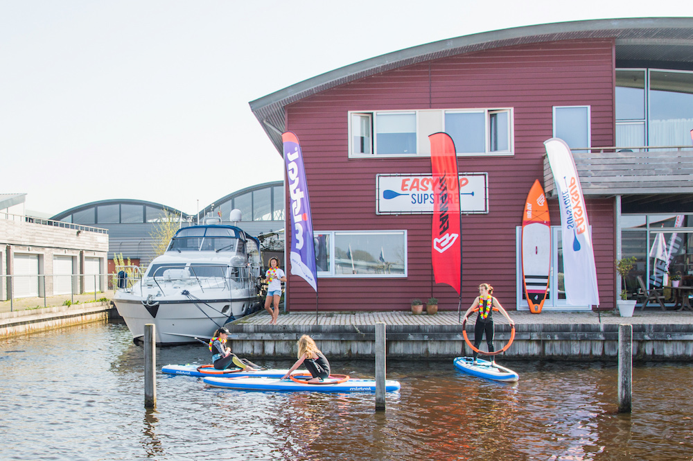 Sup in friesland
