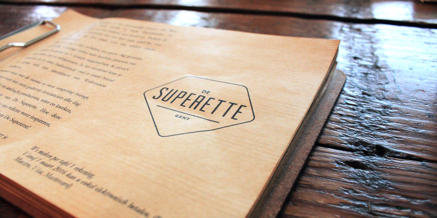 Superette hotspot in gent