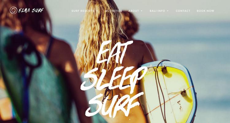 Surfen Bali Kima