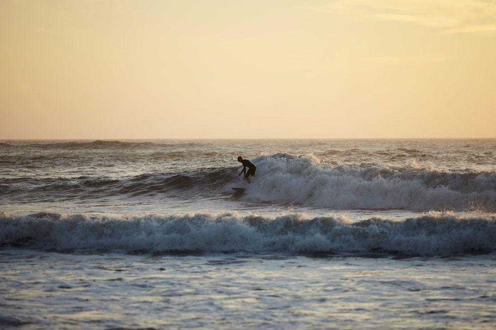 Surfen nederland Bloemendaal