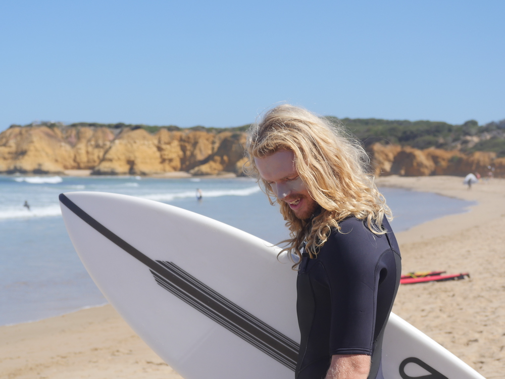 Surfen Great Ocean Road Australie