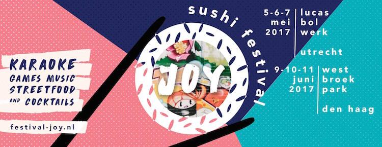 Sushi festival Joy Utrecht