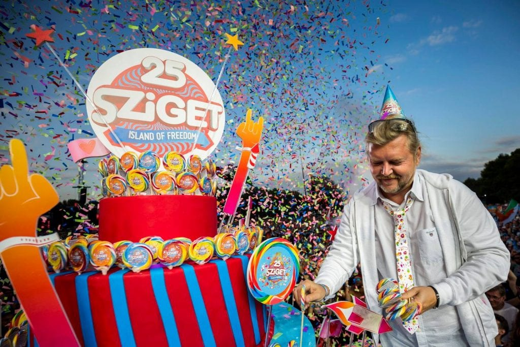 Sziget festival in 2018