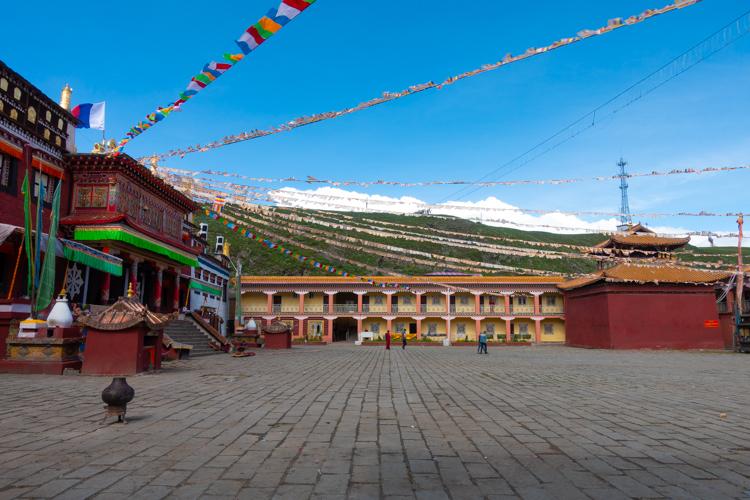 Tagong reizen tibet individueel permit