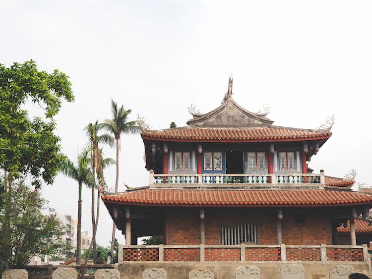 Tainan taiwan tempel fort provintia