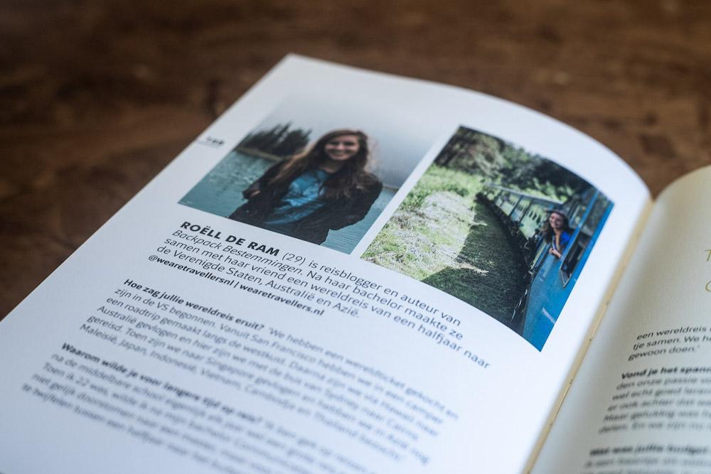 Take a break close-up reisboek ©Sara van Geloven