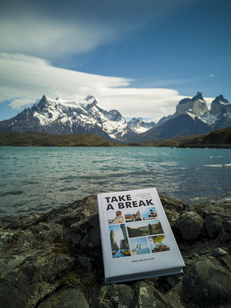 Take a break reisboek sara van geloven