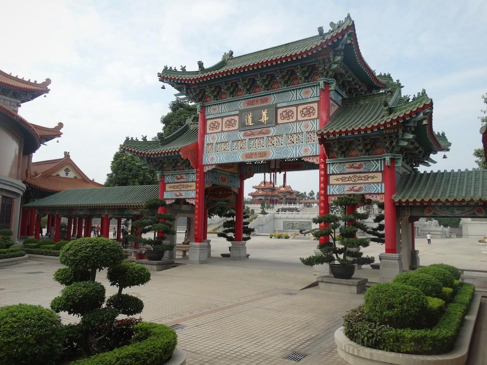 Tao temple guangzhou China