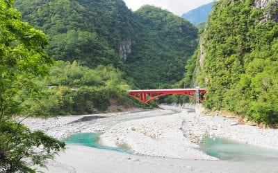 Taroko Gorge in Taiwan