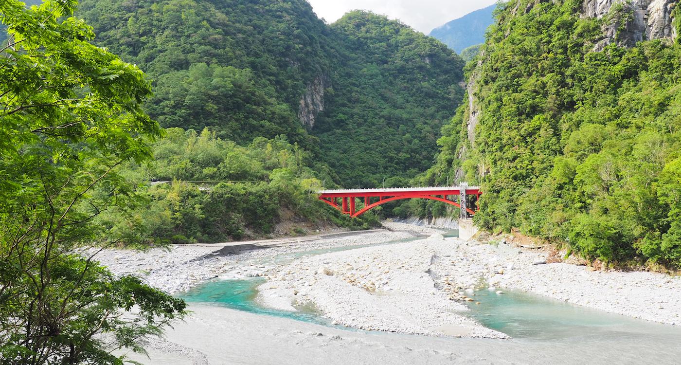 Taroko Gorge in Taiwan