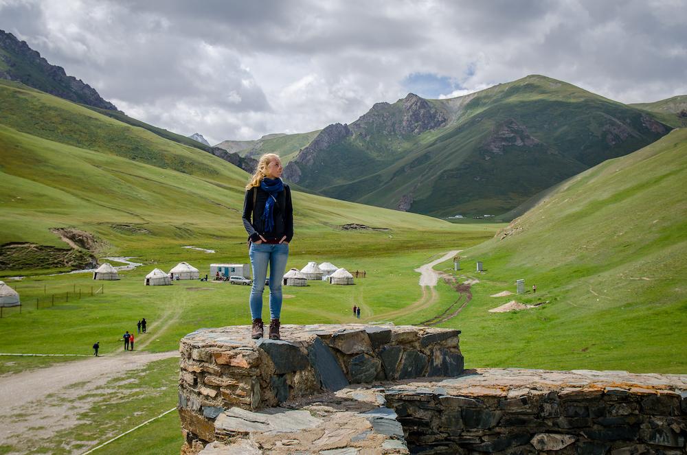 Tash Rabat yurts overnachten in kirgizie