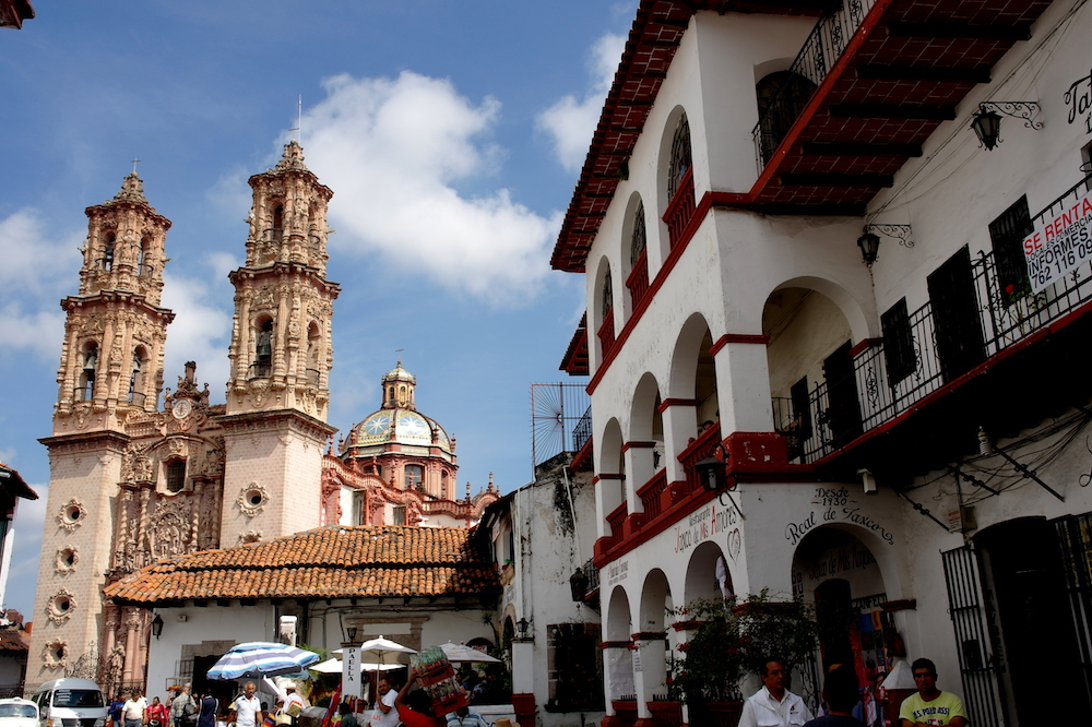 Taxco mexico route