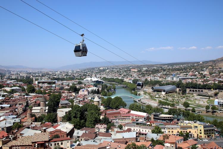 Tbilisi Georgie vakantie hoogtepunten