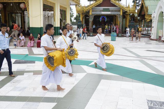 Tempel Yangon shwedagon