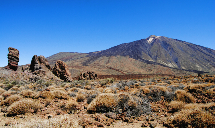 Tenerife Pico Del Teide vulkaan
