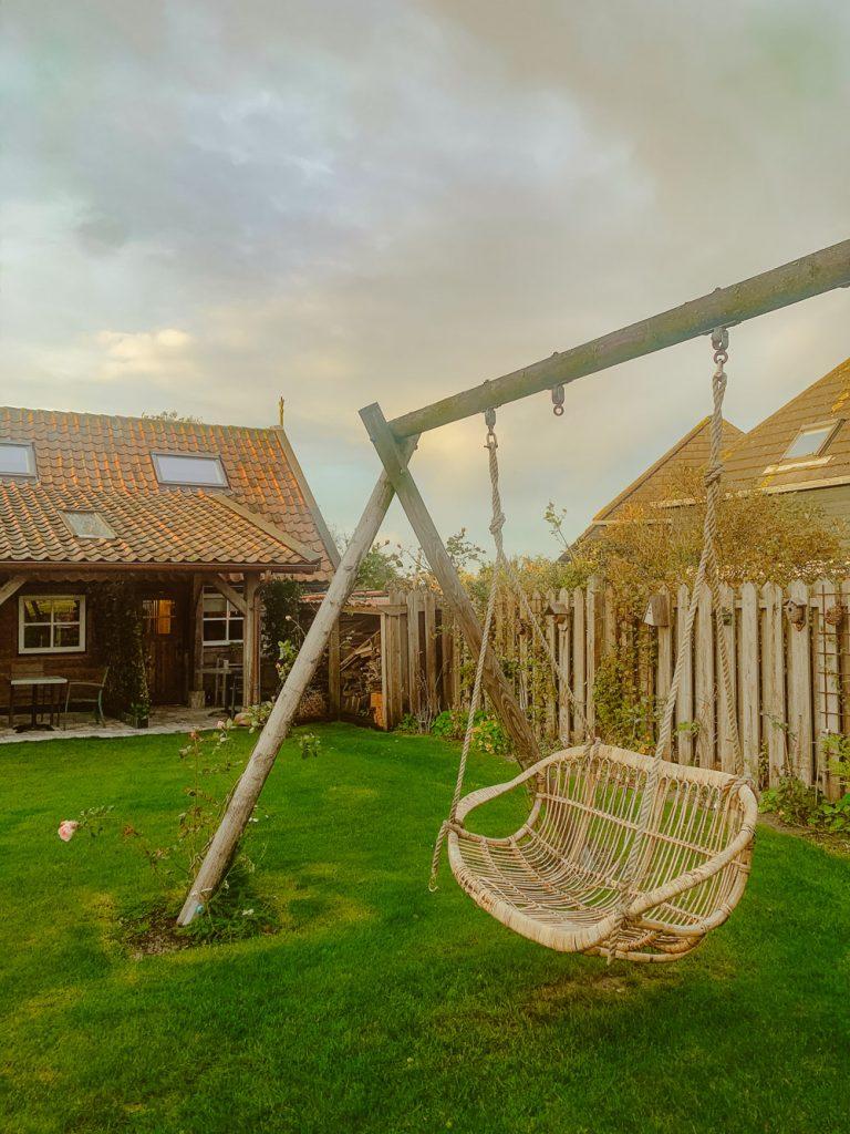 Texel OpOost tuin lodge-2