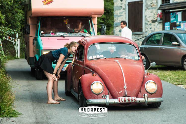 The Budapest Rally oldtimer