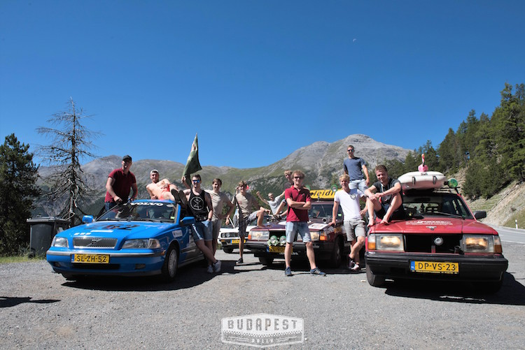 The Budapest Rally teams