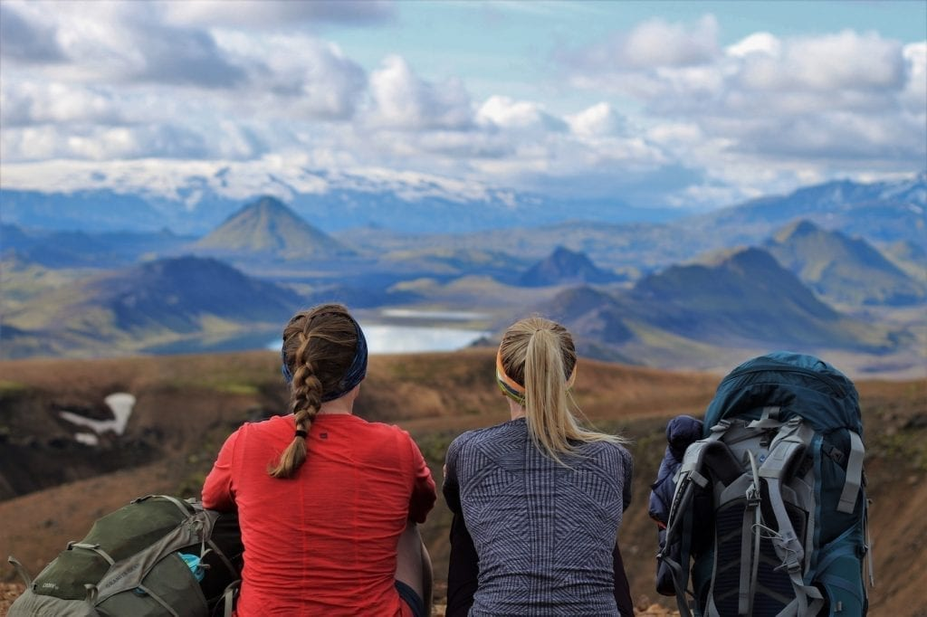 The Iceland Trail hiken in IJsland