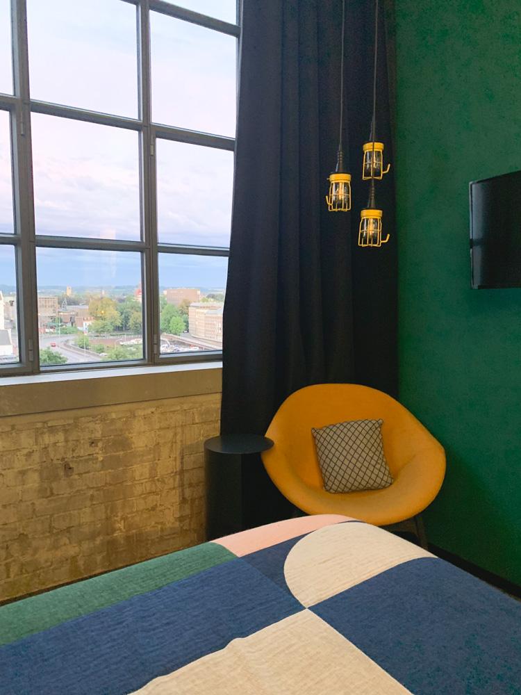 The Student Hotel kamer