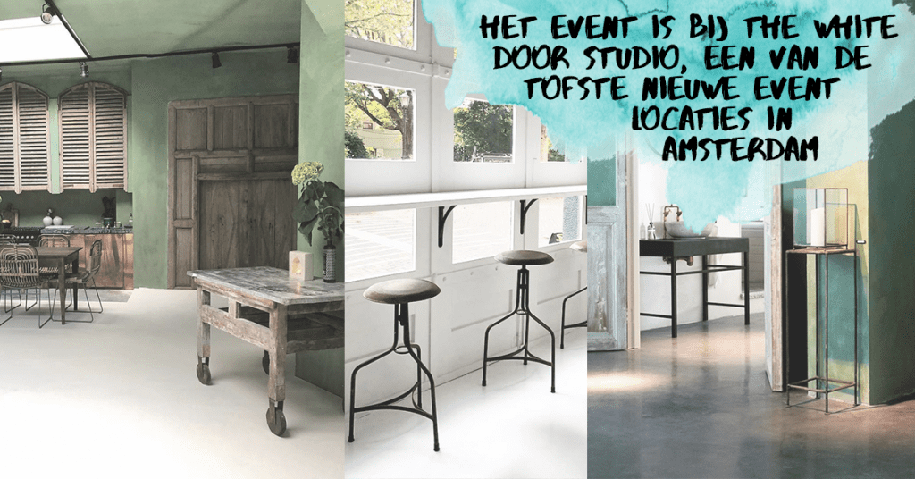 The White Door Studio event locatie WeAreTravellers Event