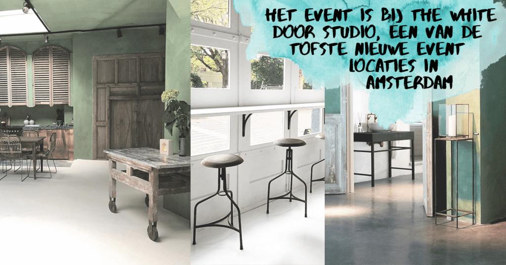 The White Door Studio event locatie WeAreTravellers Event