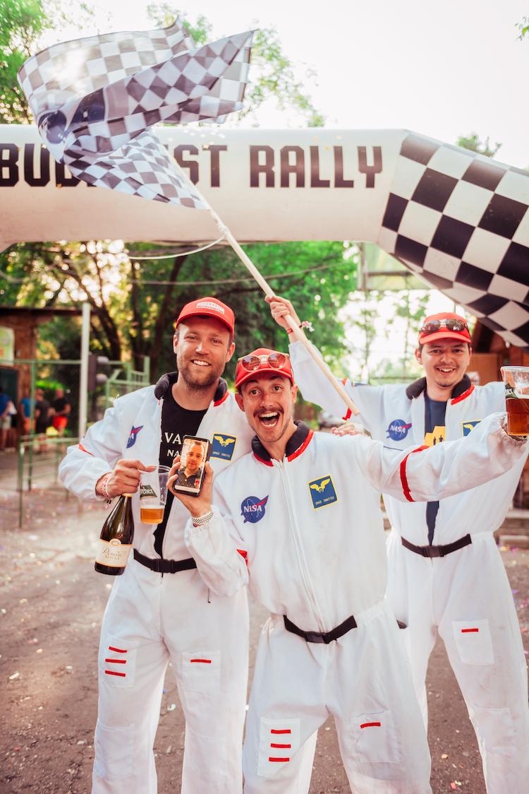 The budapest rally vakantie zomer