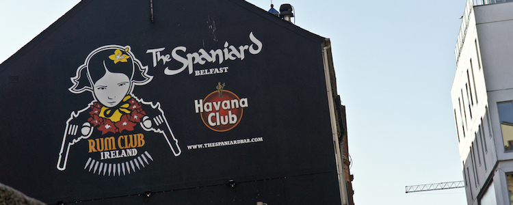 The spaniard pub belfast