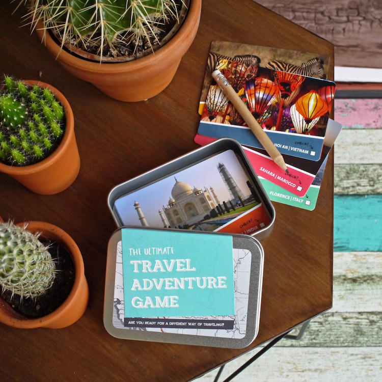 The ultimate travel adventure game