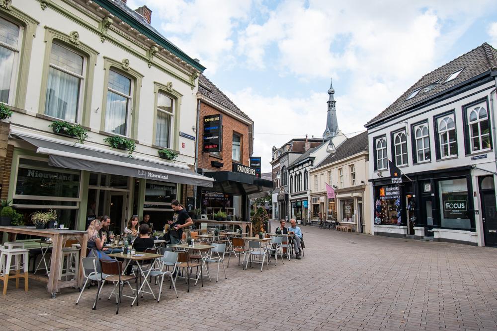 Tilburg Nieuwland lunch spot
