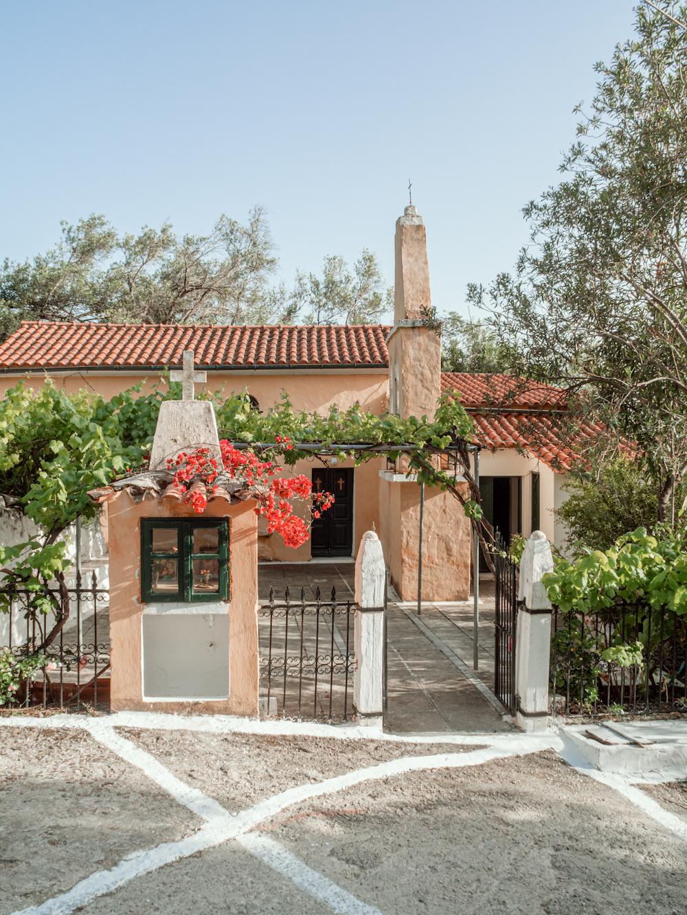 Slapen in een villa aan zee Corfu
