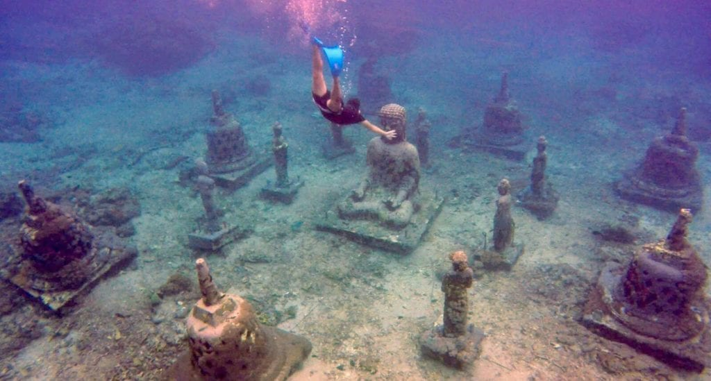 Tips Nusa Lembongan Buddha Point