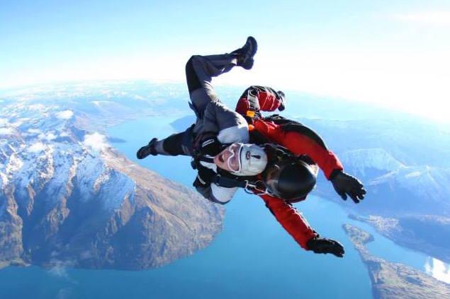 Tips backpackers skydive nieuw zeeland