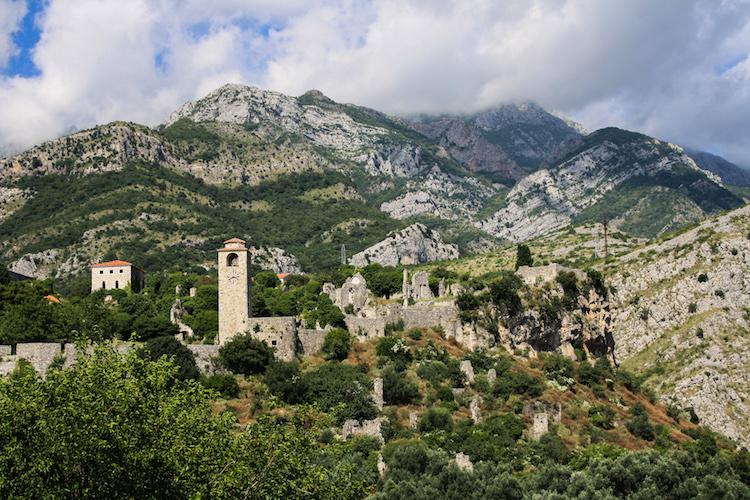 Tips montenegro roadtrip Stari Bar