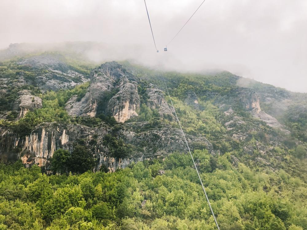 Tirana Albanie bergen