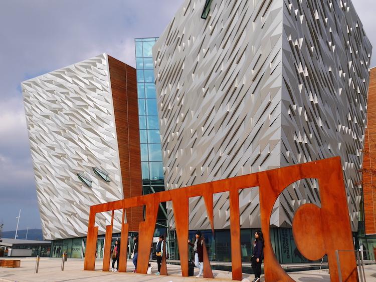 Titanic museum noord ierland