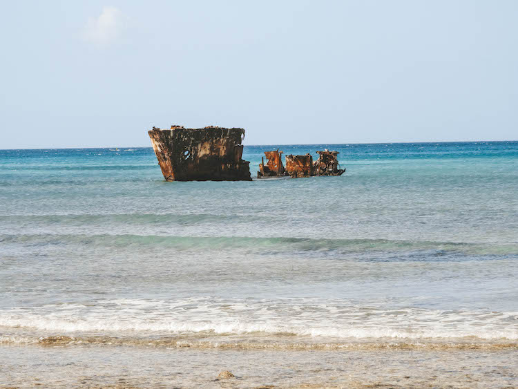 To do aruba Shipwreck niet SS California