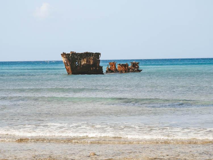 To do aruba Shipwreck niet SS California
