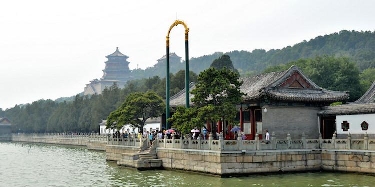 Toren van Boeddhistische Wierook zomerpaleis beijing