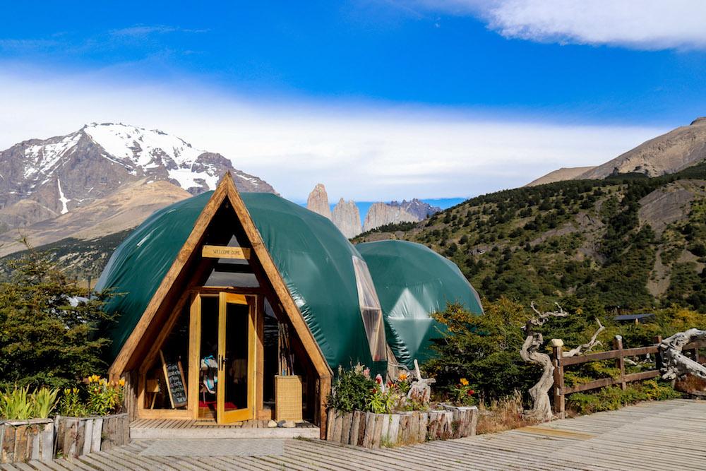 Torres del paine EcoCamp in patagonie